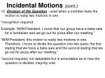 incidental motions cont2