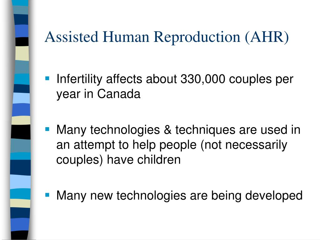 Assisted Human Reproduction (AHR)