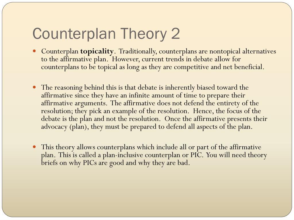 Counterplan