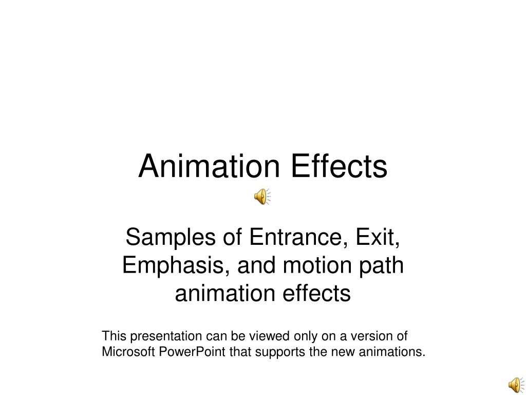 animation effects l.