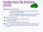 combat zone tax exclusion czte10