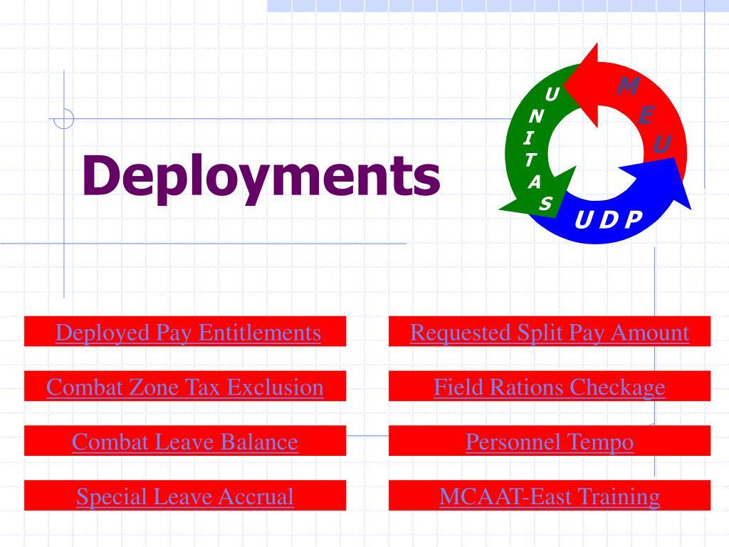 deployments l.