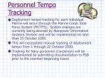 personnel tempo tracking