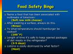 food safety bingo34