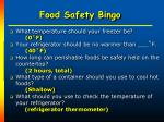 food safety bingo35