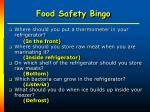 food safety bingo36