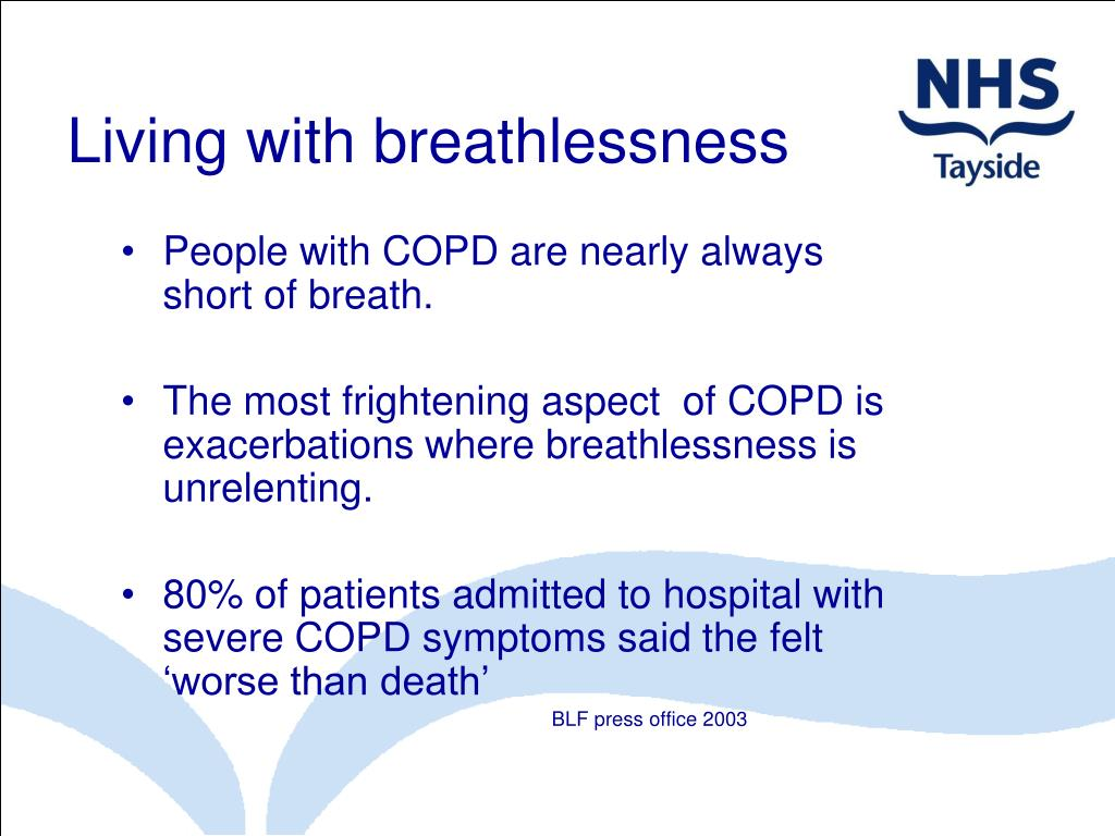 Living with breathlessness