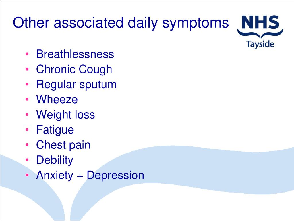 Other associated daily symptoms