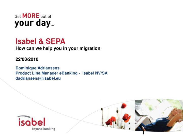 isabel sepa how can we help you in your migration 22 03 2010