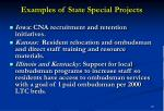 examples of state special projects15