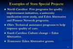 examples of state special projects18