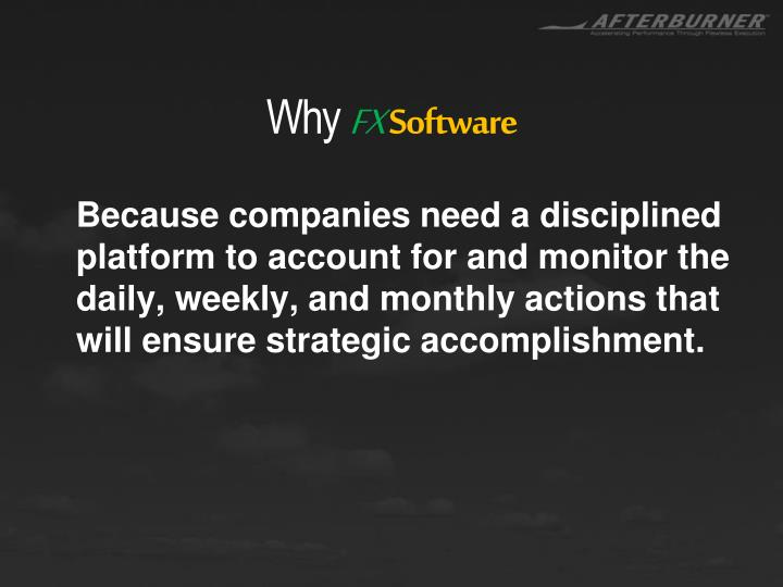 Why fx software