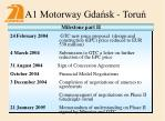 a1 motorway gda sk toru18