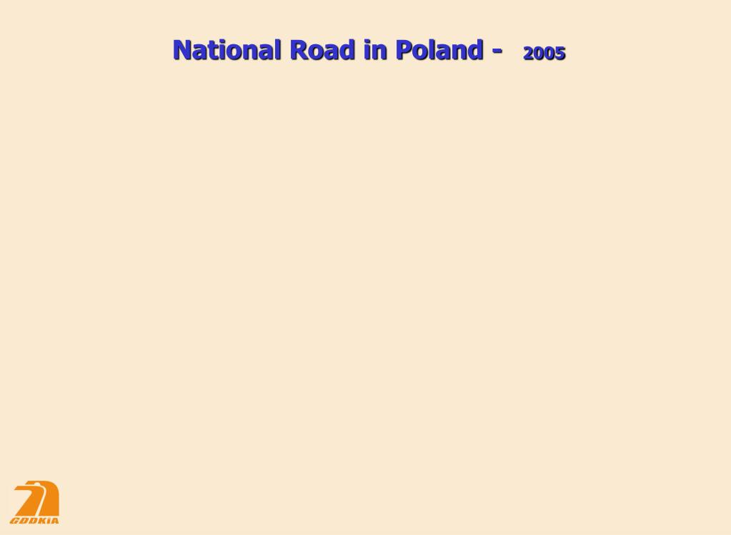 National Road in Poland -