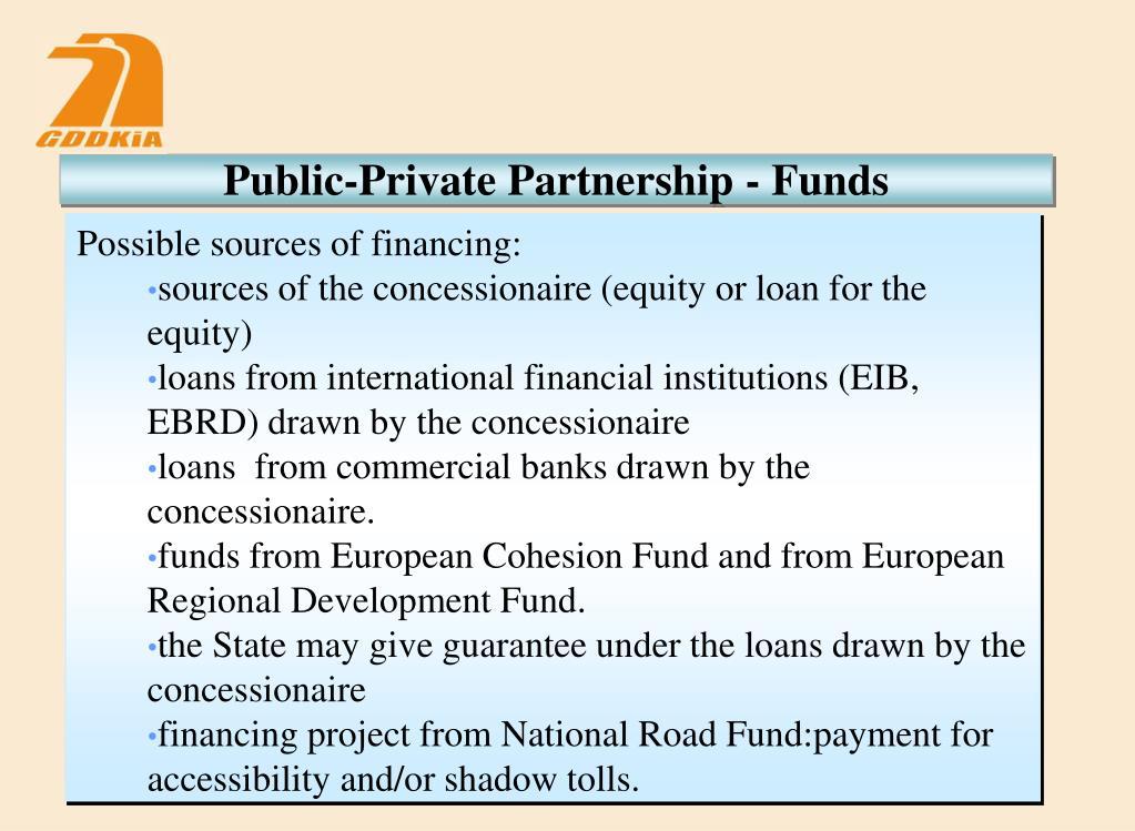 Public-Private Partnership - Funds