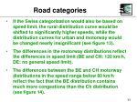 road categories43
