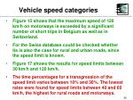 vehicle speed categories55
