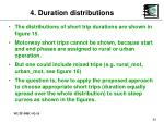 4 duration distributions