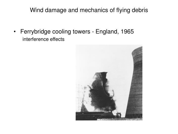 Wind damage and mechanics of flying debris3