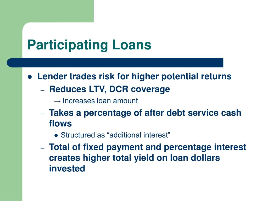 Participating Loans