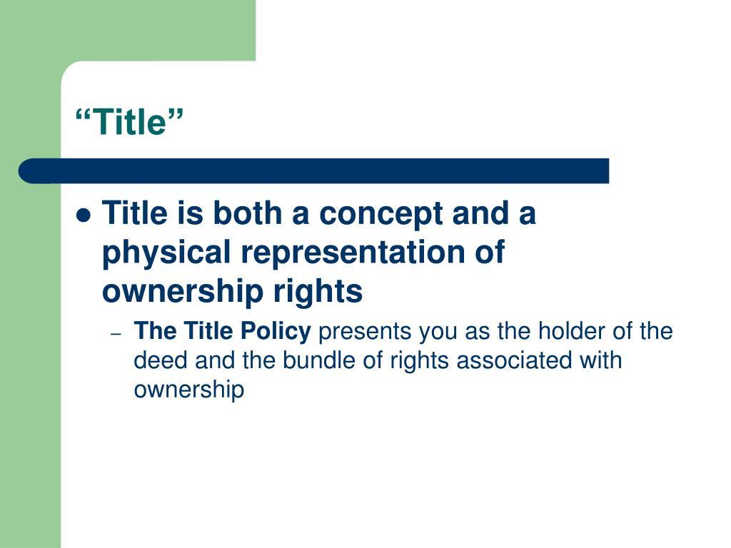 """Title"""
