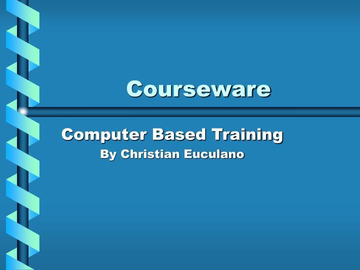courseware n.