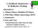 2 feedback instructor d reflective writing