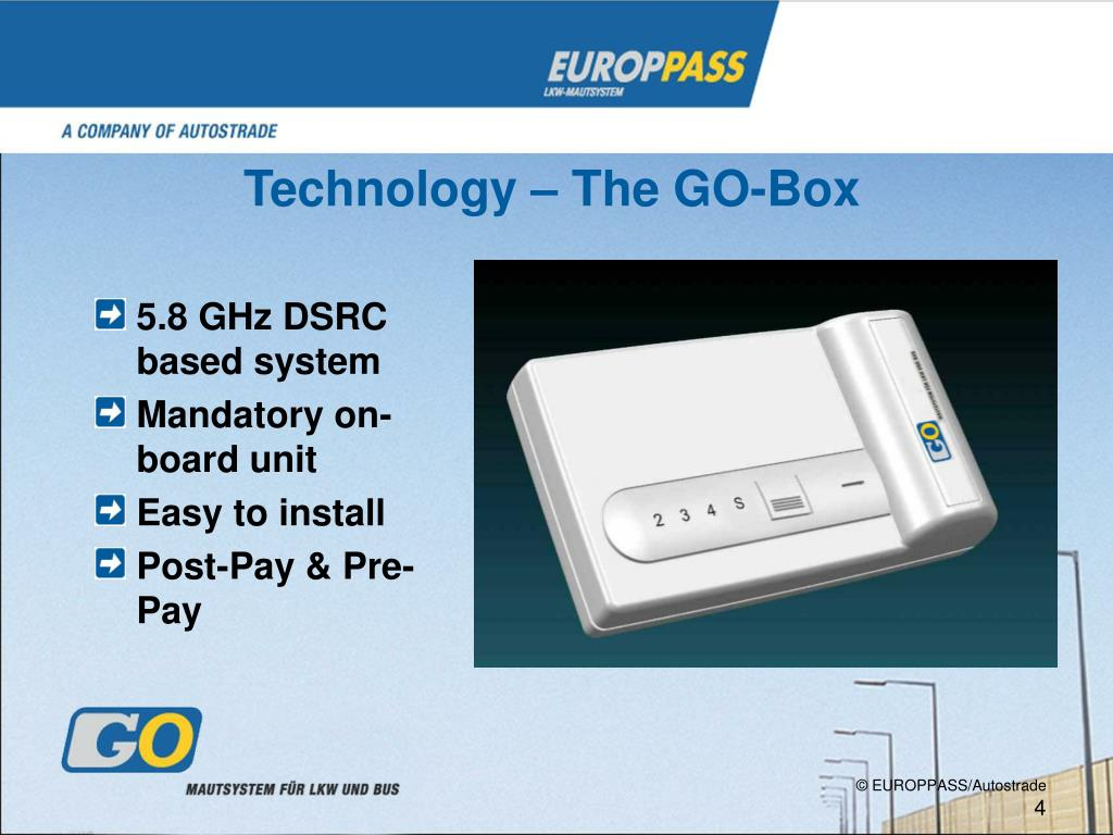 Technology – The GO-Box