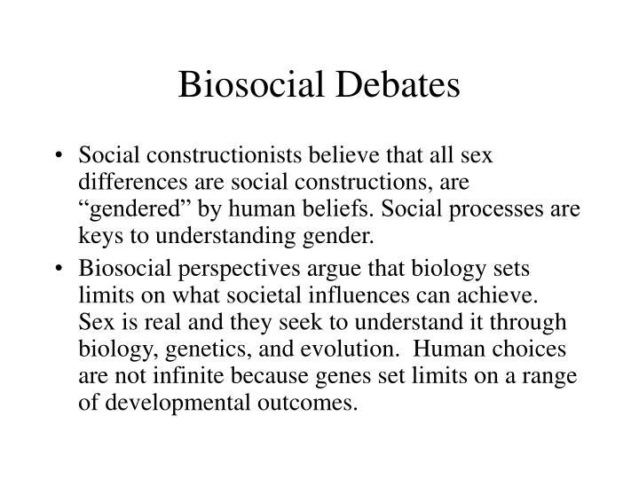 essay on biosocial development