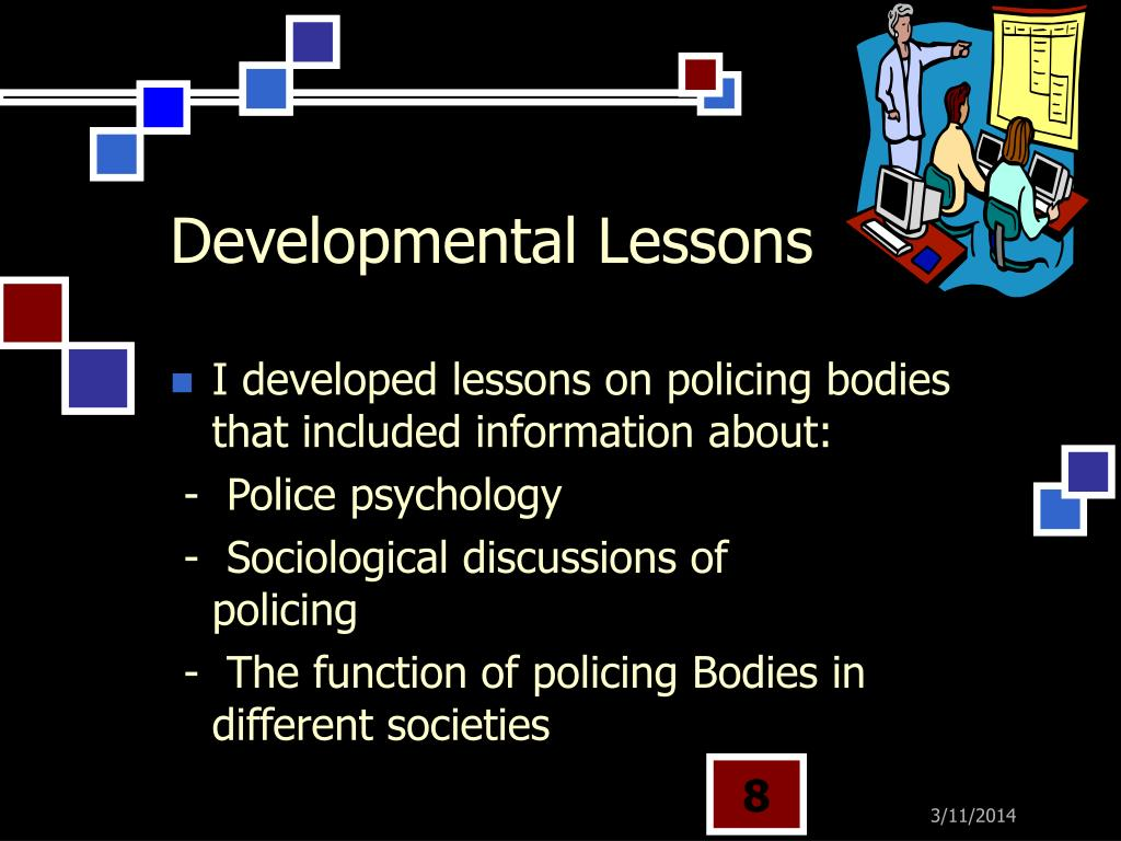 Developmental Lessons