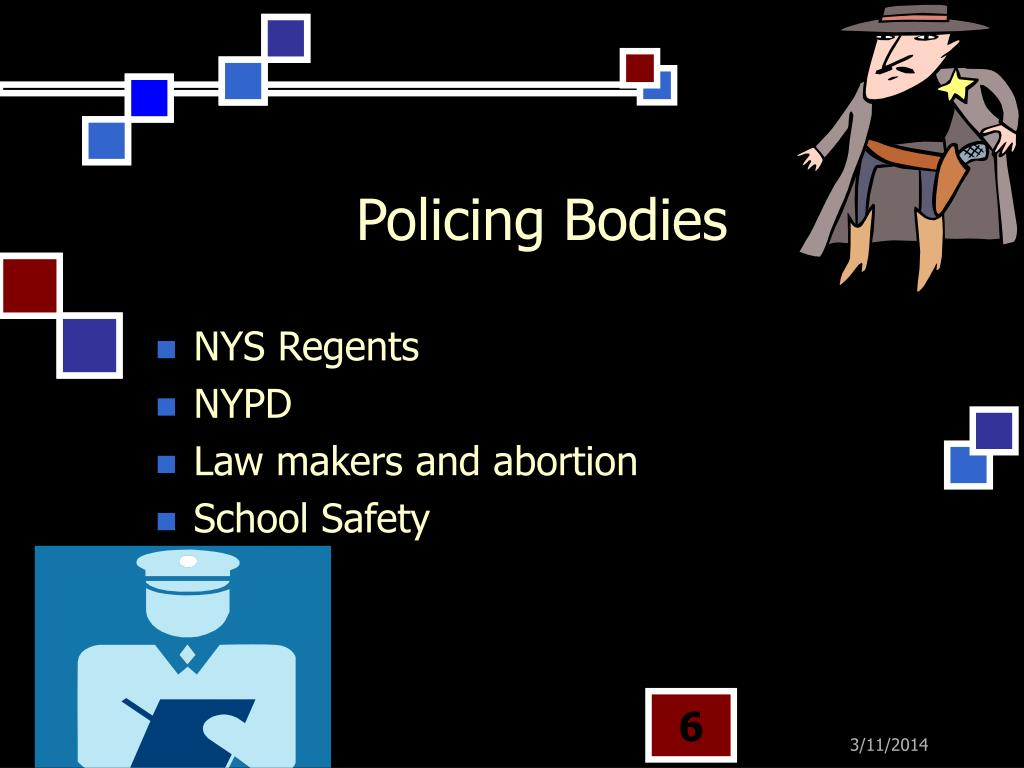 Policing Bodies
