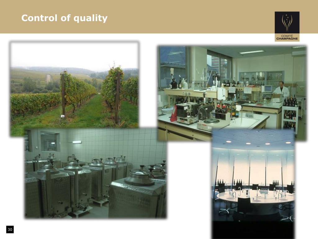 Control of quality