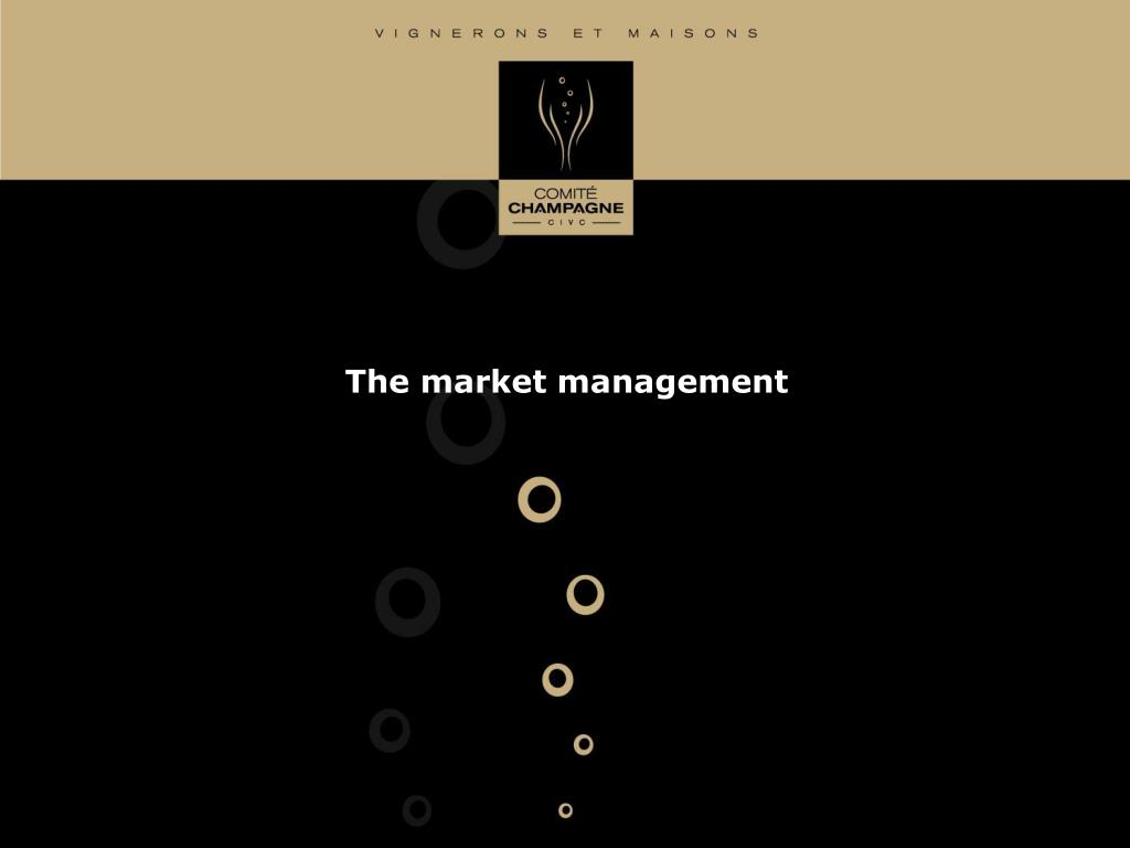 The market management
