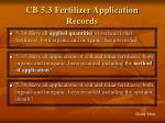 cb 5 3 fertilizer application records63