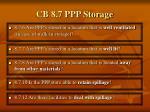 cb 8 7 ppp storage90
