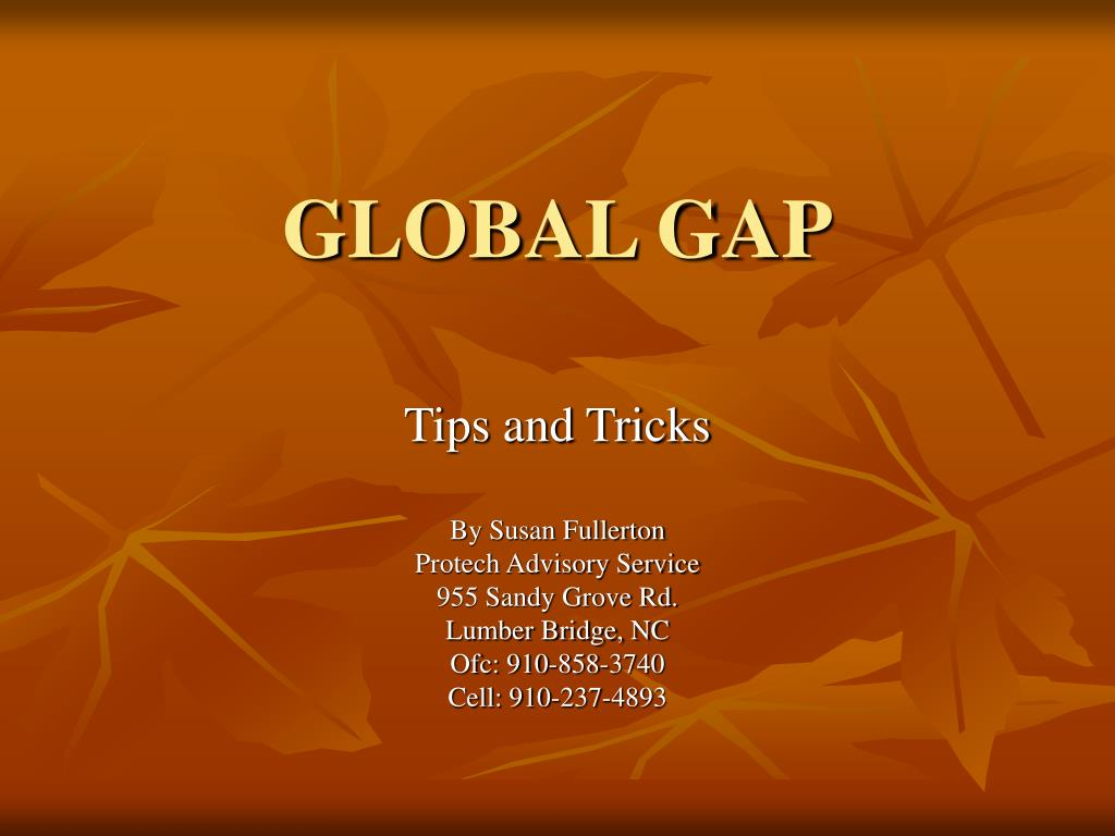 global gap l.