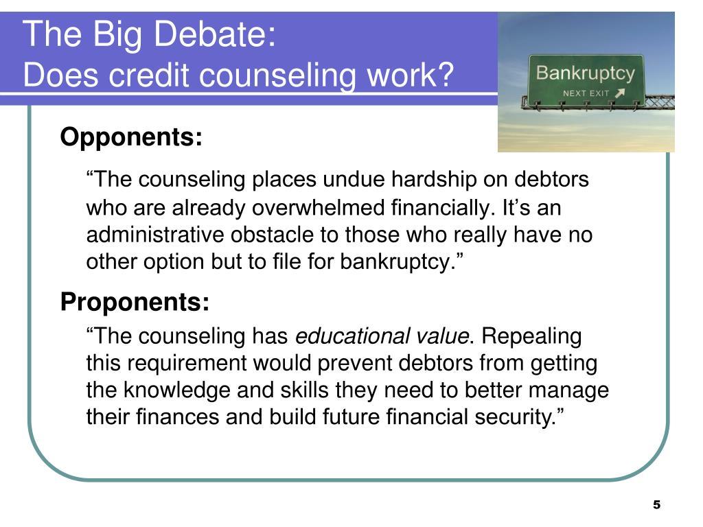 The Big Debate: