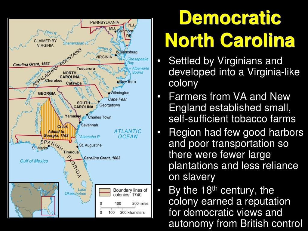 Democratic North Carolina