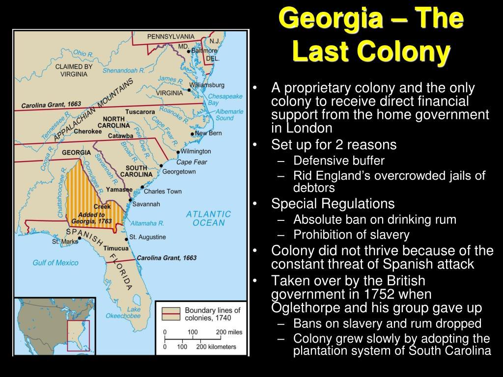Georgia – The Last Colony
