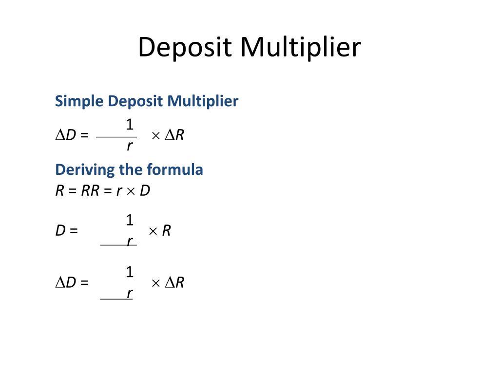 Deposit Multiplier