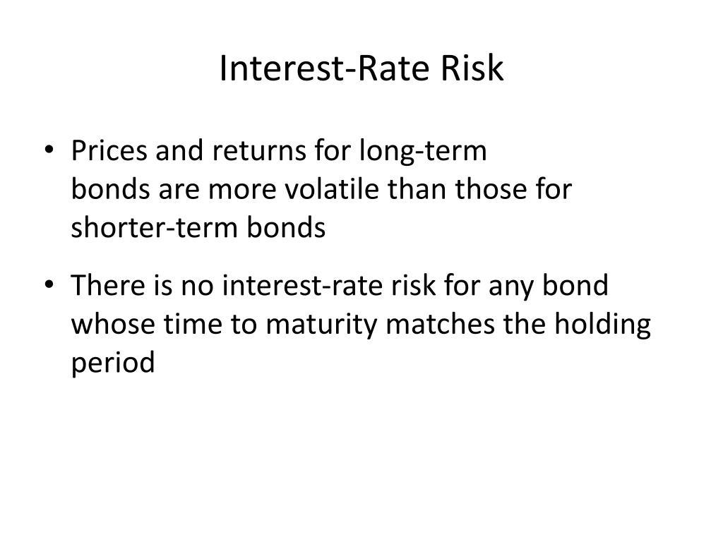 Interest-Rate Risk