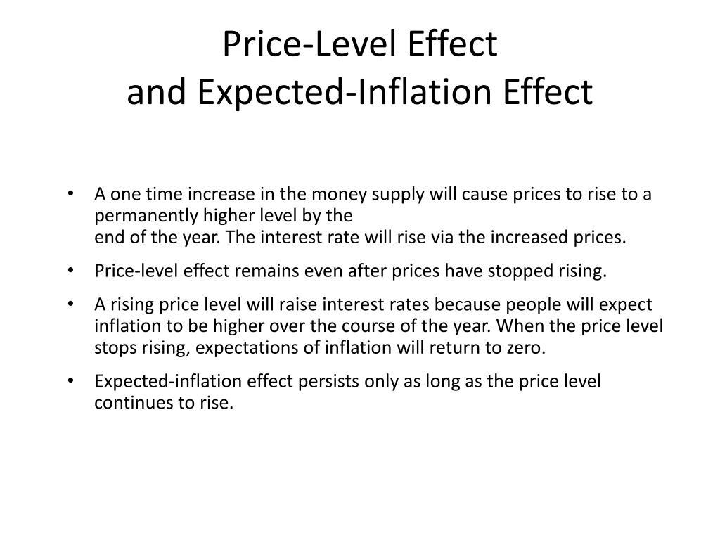 Price-Level Effect