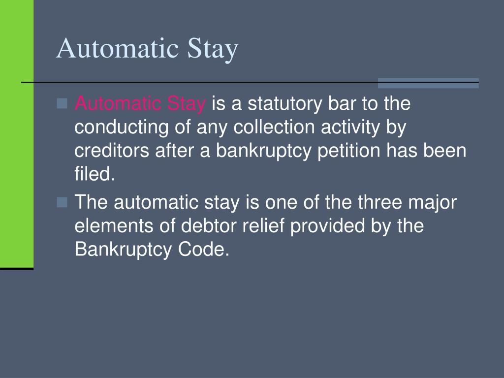 Automatic Stay