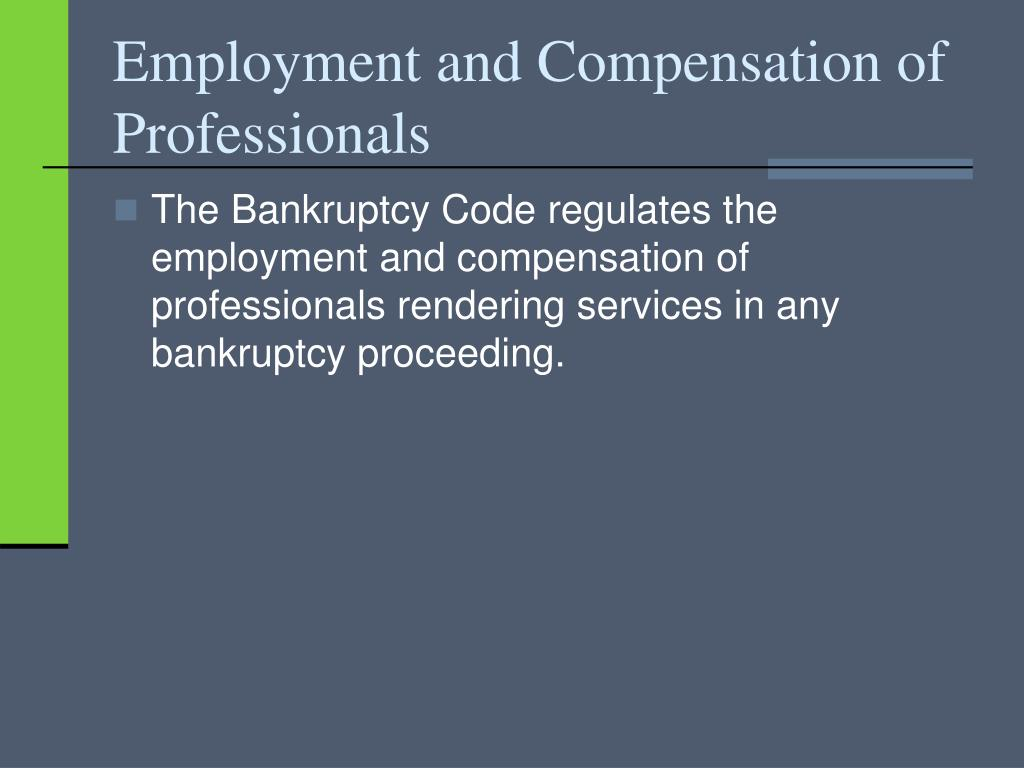 Employment and Compensation of Professionals