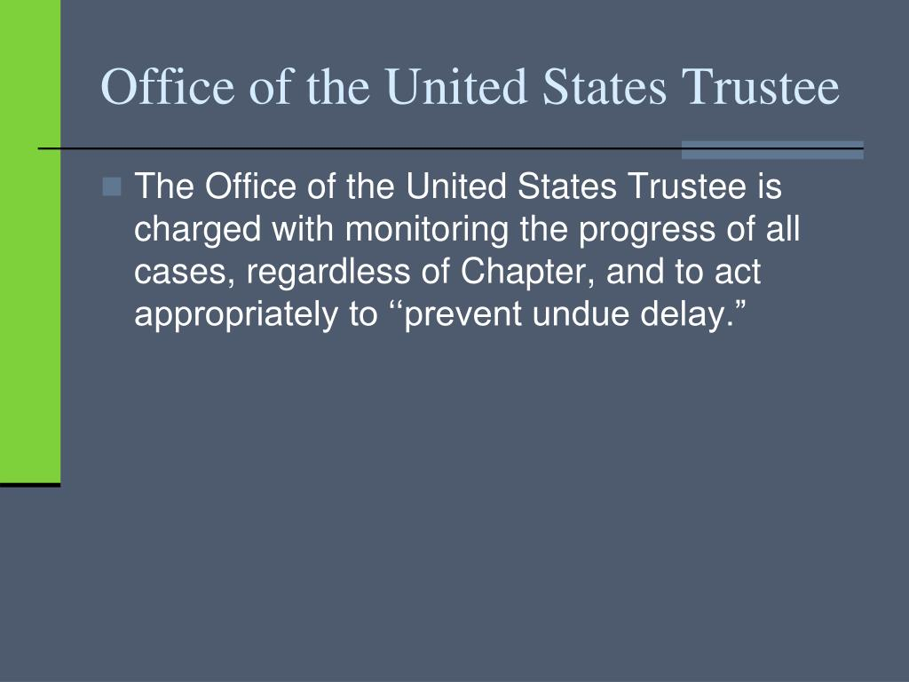 Office of the United States Trustee