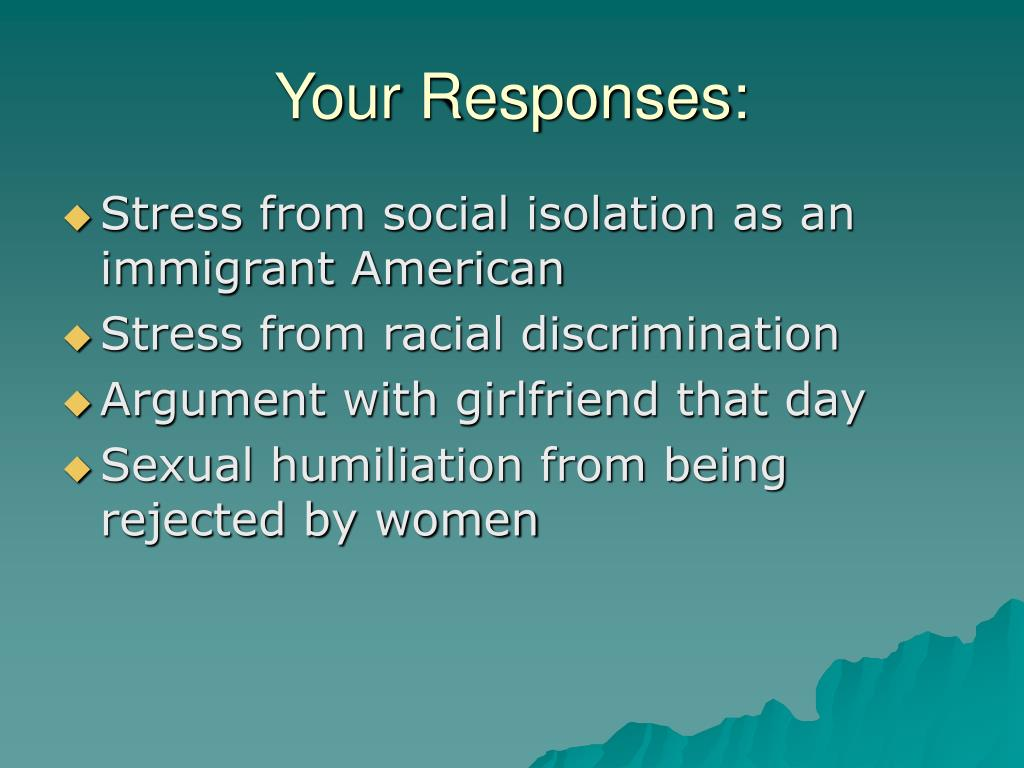 Your Responses: