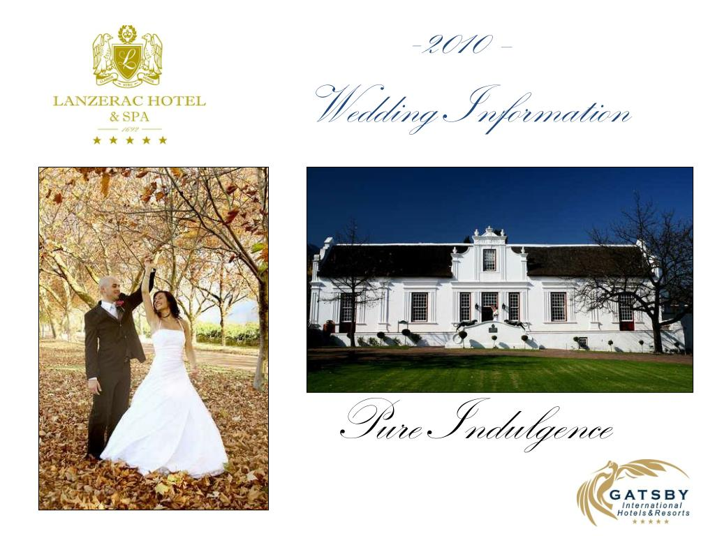 2010 wedding information l.
