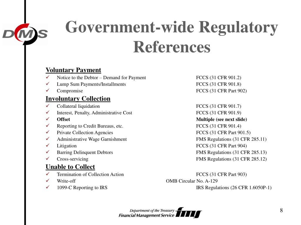 Government-wide Regulatory References