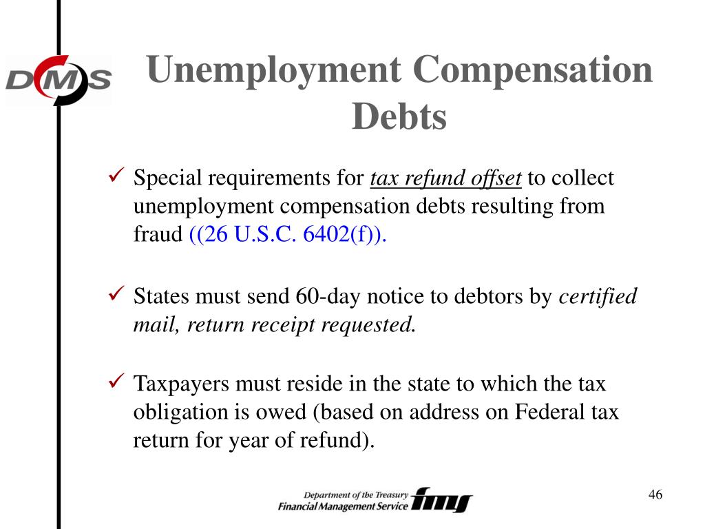 Unemployment Compensation Debts
