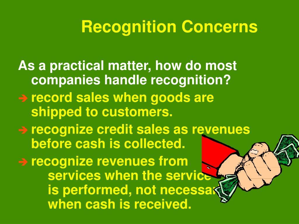 Recognition Concerns